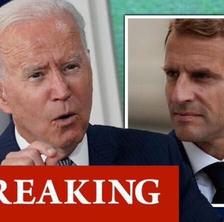 Biden se prépare à une confrontation avec Macron à la suite des retombées massives de sous-marins