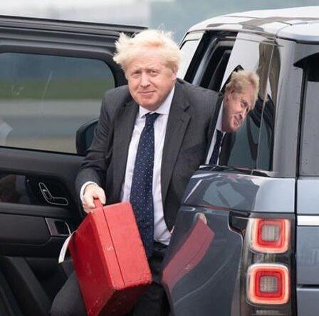 Boris Johnson admet la bombe de l'accord commercial américain avant les pourparlers de Joe Biden