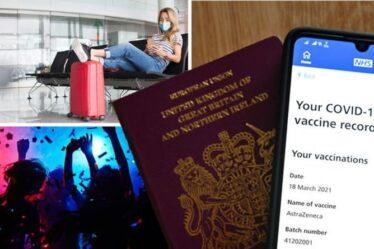 Chaos des passeports Covid:les endroits où vous avez ENCORE besoin d'une preuve de vaccination, malgré la perte de passeport