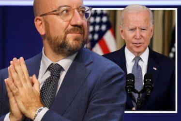Charles Michel de l'UE retourne les armes contre Joe Biden alors que le chef de Bruxelles promet de déménager en Chine