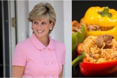 Comment préparer le repas sain préféré de la princesse Diana : les poivrons farcis