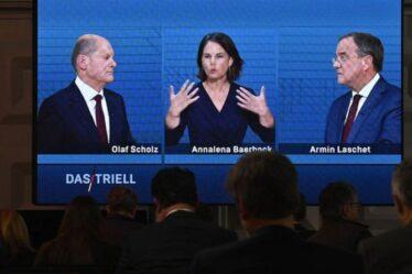 Débat sur les élections allemandes de 2021: qui a gagné alors que Scholz de gauche s'est attaqué aux attaques conservatrices