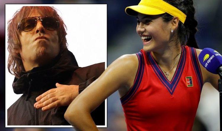 Emma Raducanu : la performance « biblique » du finaliste de l'US Open a été saluée par Liam Gallagher