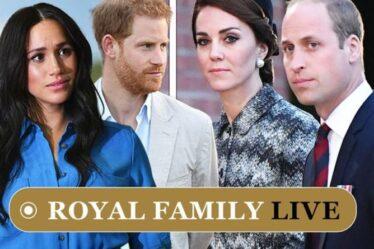 Famille royale EN DIRECT: Kate et William «anxieux» alors que les craintes d'une nouvelle rupture entre Harry et Meghan éclatent