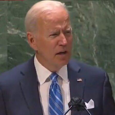 Joe Biden ignore la fureur de l'UE contre AUKUS et snobe Bruxelles dans son premier discours à l'ONU