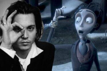 """Johnny Depp """" s'est joué """" dans Corpse Bride - """" C'est un personnage profondément anxieux """""""