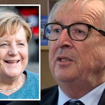 Juncker expose le changement clé que Merkel a introduit dans la politique de l'UE alors que l'Allemagne influence «à la croissance»