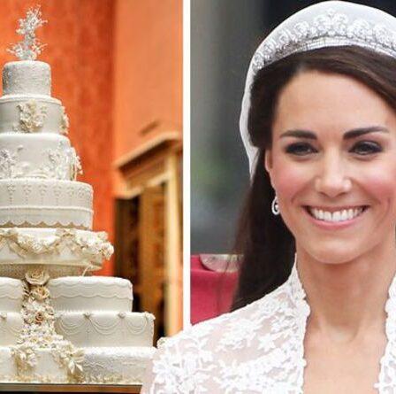 Kate Middleton a brisé la tradition du mariage royal avec son gâteau de mariage «très spécifique»