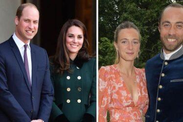Kate et William «ne voulaient pas voler la vedette» aux noces de James Middleton – détails