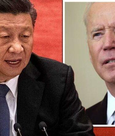 """La Chine craint: Biden a envoyé un avertissement du chef américain """"convaincu"""" que Xi fera exploser des actifs spatiaux clés"""
