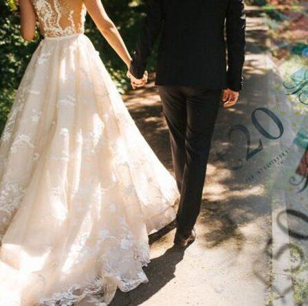 La mariée, 25 ans, explique comment elle a économisé 21 000 £ sur un mariage de conte de fées – «Nous avons trouvé de l'or»