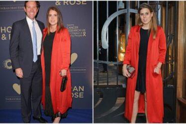 La princesse Eugénie impressionne dans la veste recyclée de sa sœur Béatrice – « Classique et élégante »