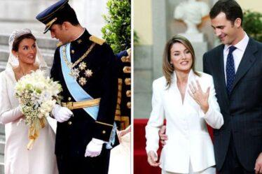 La reine Letizia ne porte jamais sa superbe bague de fiançailles de 20 000 £ après s'être «blessée la main»