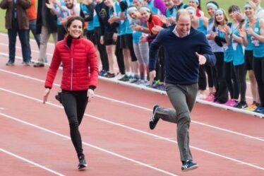 """La """"sportive"""" Kate Middleton incapable de participer au marathon en raison d'un protocole royal strict"""