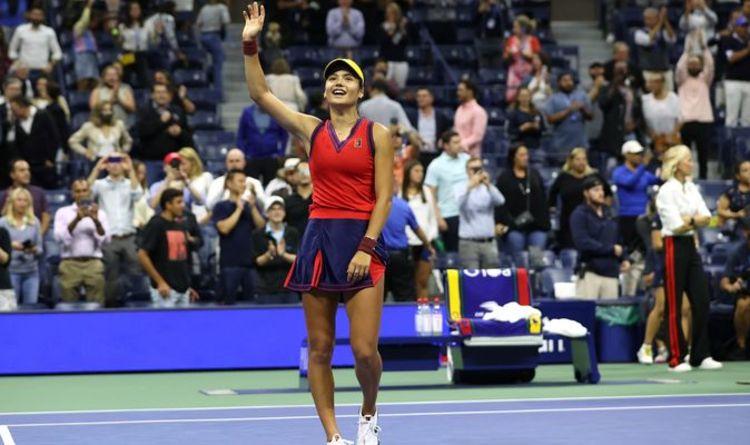 La superbe course d'Emma Raducanu à l'US Open résumée parfaitement par le parent d'un ancien camarade de classe