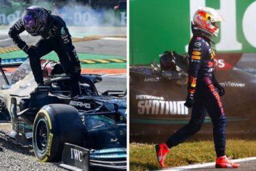 """L'accident de Max Verstappen et Lewis Hamilton montre un """"manque de maîtrise de soi"""" - Damon Hill"""