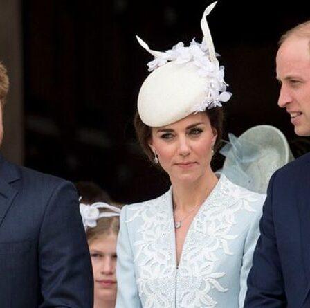 Le message d'anniversaire «assez froid» de Kate et du prince William au prince Harry suscite la frénésie des fans