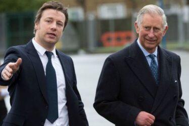 Le prince Charles s'associe à Jamie Oliver pour lancer une initiative de gaspillage alimentaire
