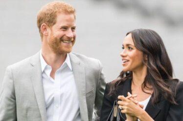 """Le prince Harry et Meghan Markle ne veulent pas """"disparaître"""" des yeux du public malgré le Megxit"""