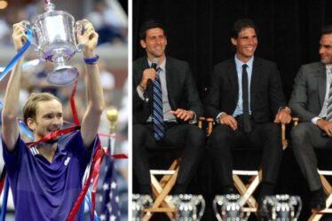 L'entraîneur de Daniil Medvedev met en garde Novak Djokovic, Rafael Nadal et Roger Federer