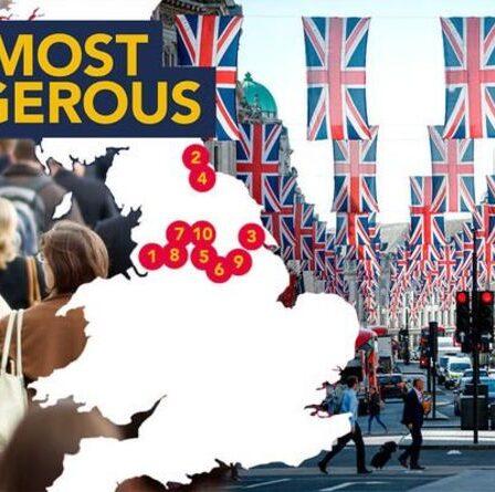Les 10 endroits les plus dangereux où vivre en Angleterre cartographiés - votre région en fait-elle partie?