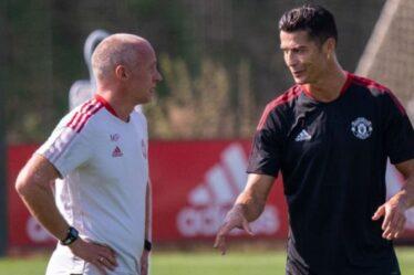 L'incroyable régime d'entraînement de Cristiano Ronaldo qui a laissé ses coéquipiers de Man Utd sans voix