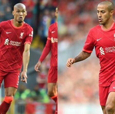 """Liverpool """"identifie l'alternative à Fabinho"""" mais fait face à un accord d'échange avec Thiago Alcantara pour signer une star"""