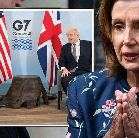 Nancy Pelosi jette le gant sur l'accord commercial américano-britannique avec un ultimatum brutal à Boris