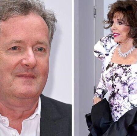 Piers Morgan rassure Joan Collins après le camouflet « déconcertant » des NTA de Martin Compston