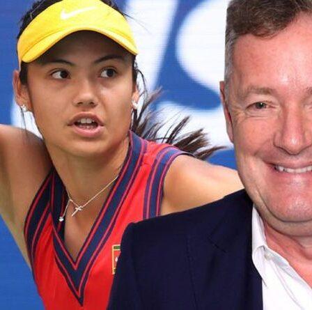 """Piers Morgan salue Emma Raducanu pour """"avoir appris à gérer la chaleur"""" à l'US Open"""