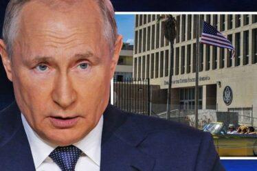 Poutine suscite la fureur des États-Unis alors que l'origine du syndrome de La Havane est dévoilée grâce à un scanner de «blessure cérébrale»