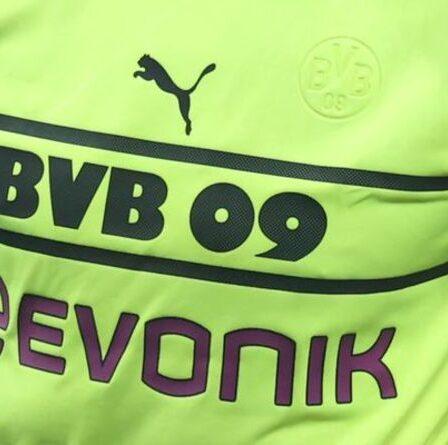 Puma a fait pression pour présenter des excuses embarrassantes aux supporters de Dortmund pour le troisième kit