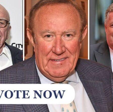 SONDAGE: Andrew Neil devrait-il suivre Piers Morgan et rejoindre la chaîne talkTV de Murdoch?