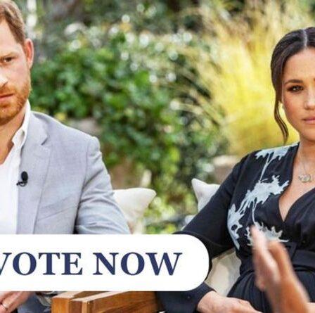 SONDAGE Royal : L'interview d'Oprah du prince Harry et Meghan Markle aurait-elle dû gagner un Emmy ?  VOTER