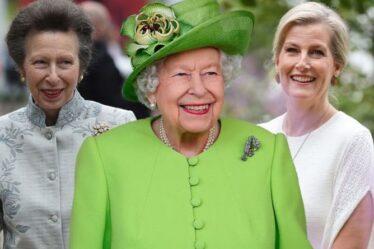Sophie Wessex et la princesse Anne rendent la reine fière en la remplaçant lors d'un événement précieux