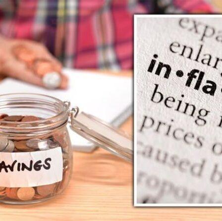 Taux d'épargne: les meilleures offres partagées car l'inflation doit «réduire» plus de 3 000 £ aux épargnants