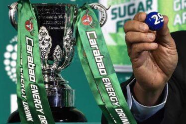Tirage au sort de la Carabao Cup : Quand aura lieu le tirage au sort du quatrième tour de la Carabao Cup ?