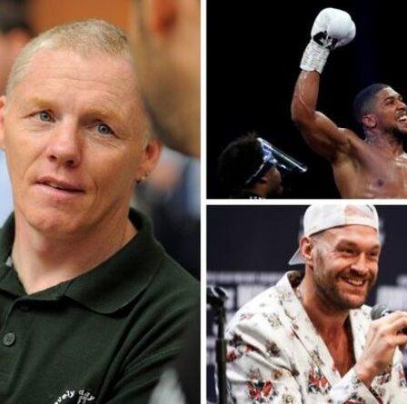 Tyson Fury est laissé abasourdi par un jeune Anthony Joshua lors d'une séance de sparring de 2010