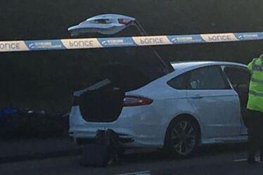 Un adolescent est mort après avoir été «jeté en l'air» sur une moto volée