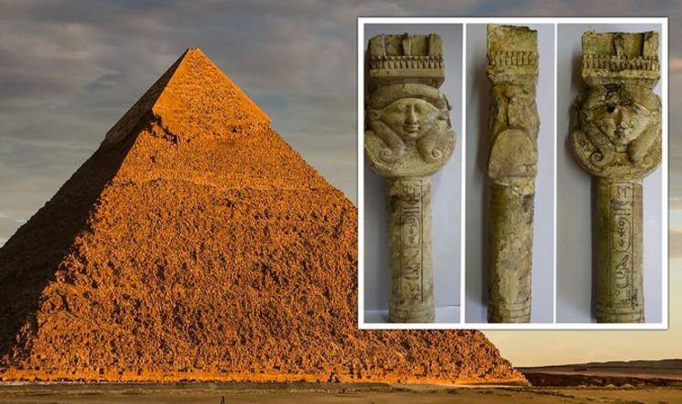 Une percée en Égypte alors que de superbes outils rituels anciens sont mis au jour dans une «découverte importante»