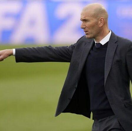 Zinedine Zidane a déjà donné une réponse claire à l'embauche de Man Utd