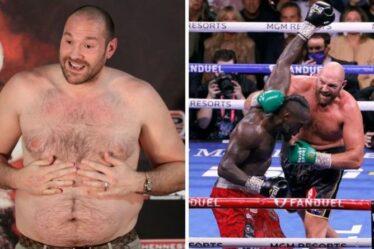 Perte de poids de Tyson Fury: le régime alimentaire anti-graisse de Boxer qui l'a aidé à battre Deontay Wilder
