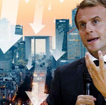 Emmanuel Macron a lancé un avertissement sévère sur l'avenir alors que la France est en «problème économique énorme»