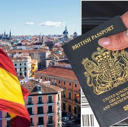Avertissement de passeport pour les Britanniques se rendant en Espagne - quelles règles les Britanniques doivent-ils suivre?