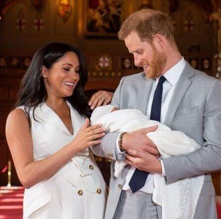 «Ça n'arrive pas» Il est peu probable que des membres de la famille royale s'envolent pour les États-Unis pour le baptême de Lilibet, selon un expert