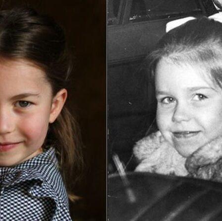 «C'est étrange!»  La ressemblance de la princesse Charlotte avec la nièce de la reine suscite la frénésie des fans royaux