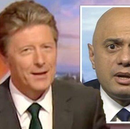 """Charlie Stayt a critiqué l'interview de """"l'accident de voiture"""" de Sajid Javid """"Balance the argument BBC"""""""