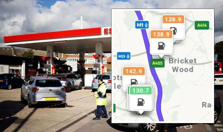 Comment vérifier quelles stations-service ont du carburant près de chez vous