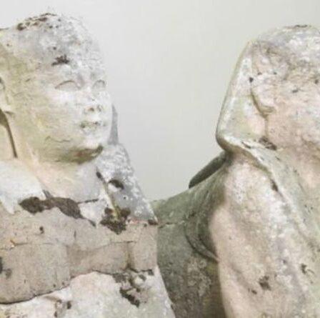 Des ornements de jardin d'une valeur de 300 £ s'avèrent être d'anciens sphinx égyptiens d'une valeur de 200 000 £