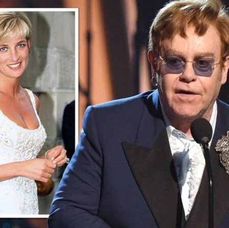 Elton John «forcé de refuser l'invitation royale au mémorial de la princesse Diana» après une opération de la hanche